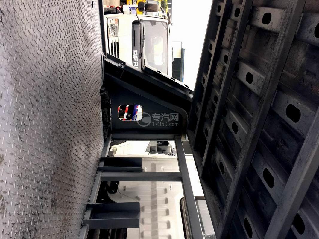 东风多利卡D9一拖三清障车上平板下面空间
