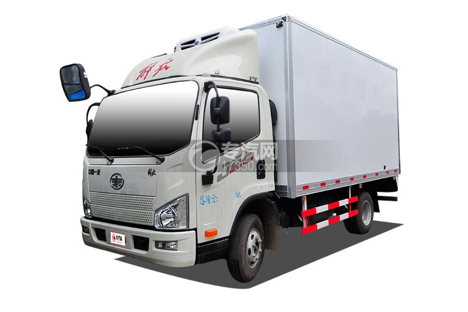 一汽解放J6F国五4.2米冷藏车