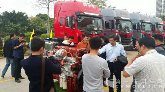 搭载玉柴6k发动机 江淮格尔发k5牵引车上市