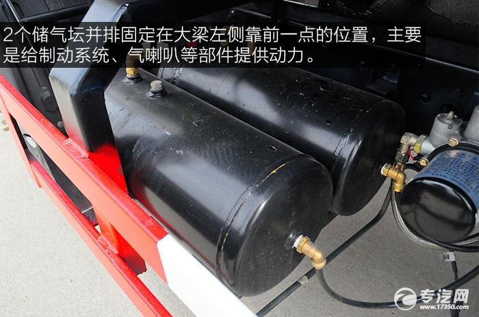 大运奥普力4.6方洒水车储气坛