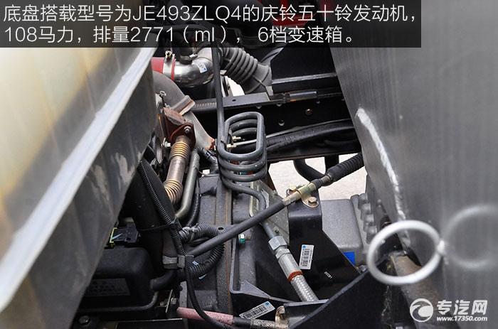 重汽豪沃5.2方加油车发动机
