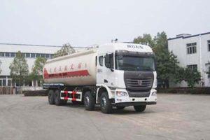 集瑞联合前四后八国五34.6方低密度粉粒物料运输车