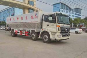 福田欧曼ETX小三轴国五散装饲料运输车