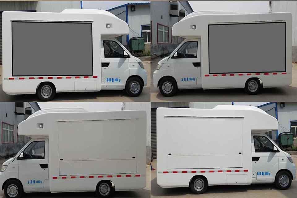 开瑞国五流动售货车