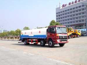 福田欧曼ETX小三轴16.5方国五洒水车