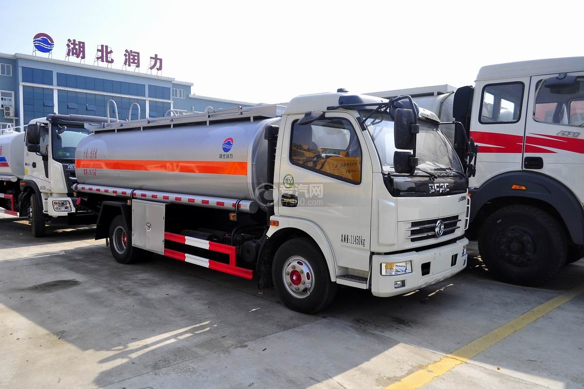 东风多利卡10.5方国五洗井液车