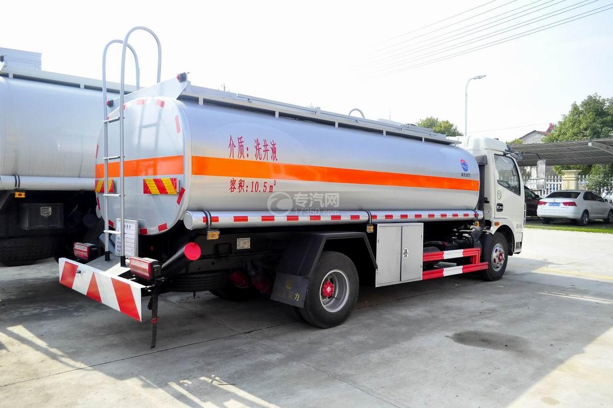 东风多利卡10.5方国五洗井液车右后图