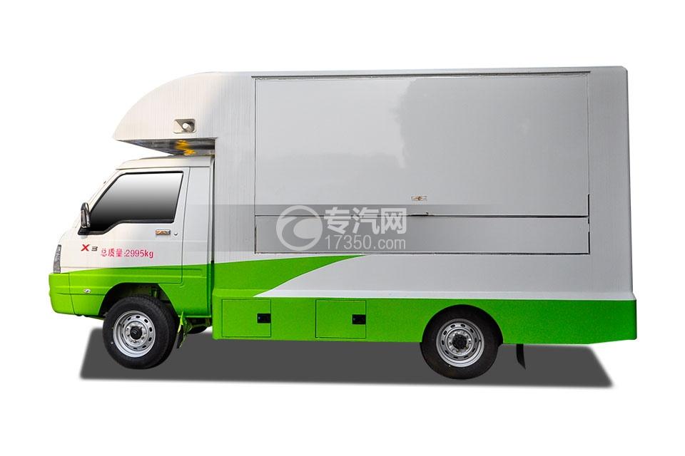 江淮康铃X3售货车左侧