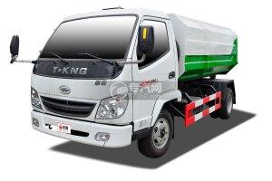 唐骏金利卡1自卸式垃圾车