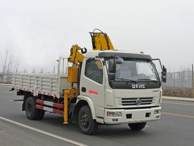 东风多利卡国五3.2吨徐工折臂式随车吊
