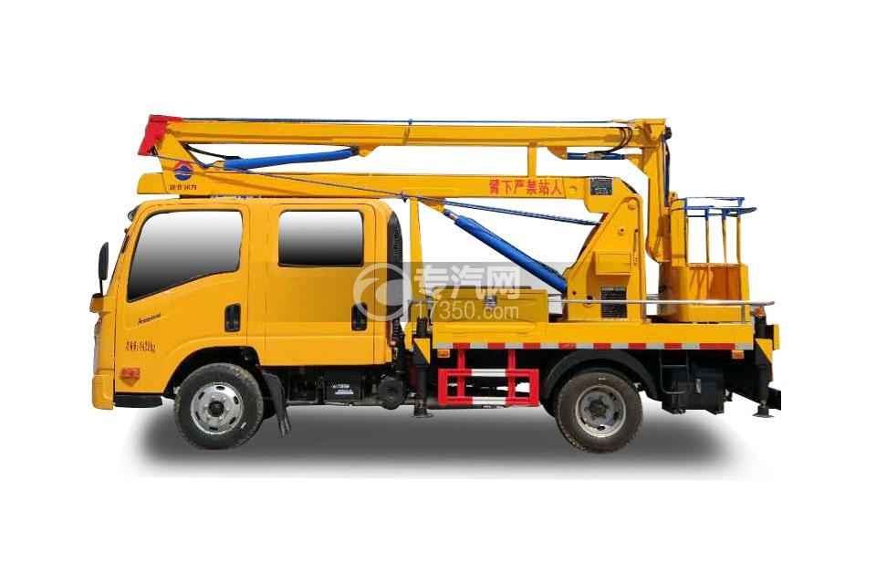 大运奥普力双排座国五14米高空作业车