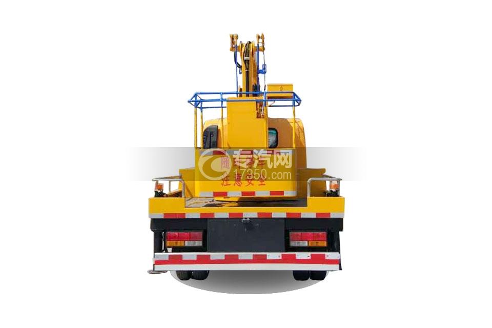 大运奥普力双排座国五12米高空作业车4