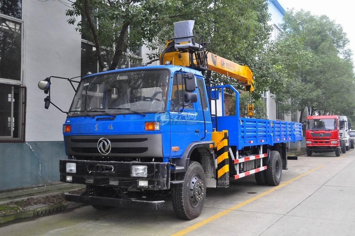 东风153型国五程力霸龙8吨随车吊图片
