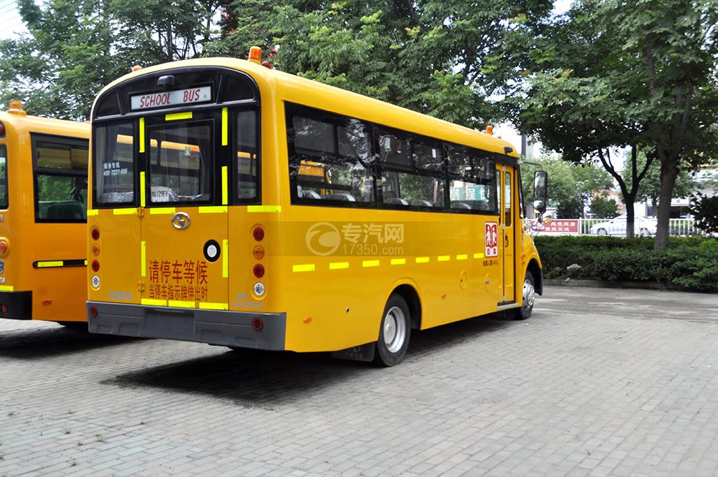 少林41座幼儿园专用校车4