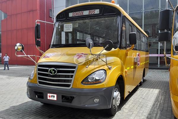 少林37座小学生专用校车8