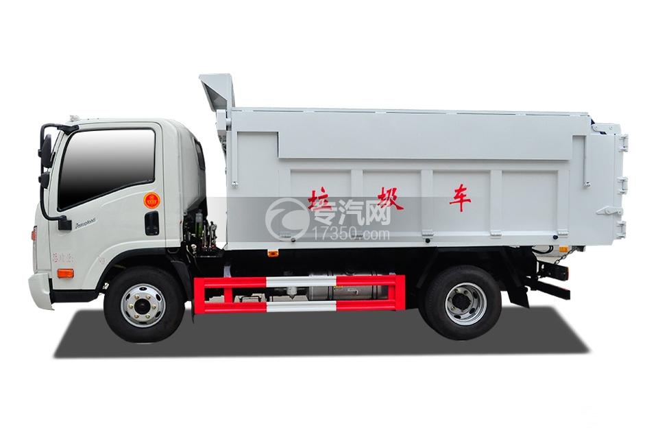 3大运奥普力国五自卸式垃圾车