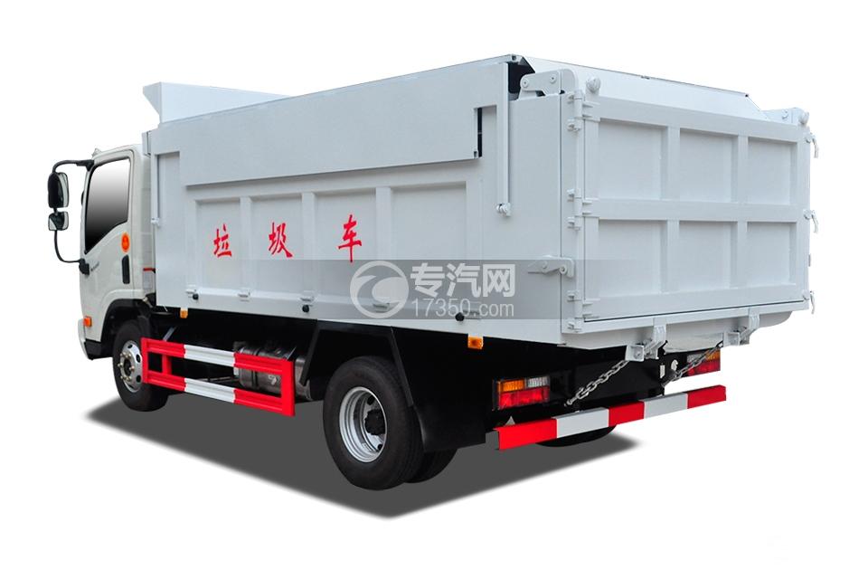 4大运奥普力国五自卸式垃圾车