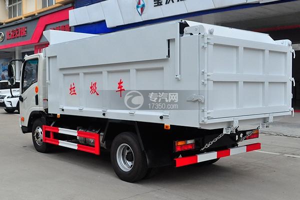 8大运奥普力国五自卸式垃圾车
