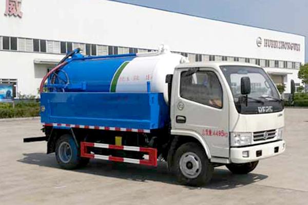 东风多利卡国五1.5方清洗吸污车