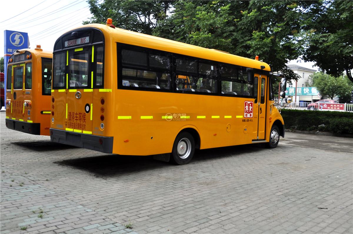 3少林40座幼儿园专用校车