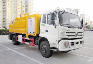 東風特商單橋國五7.8方清洗吸污車