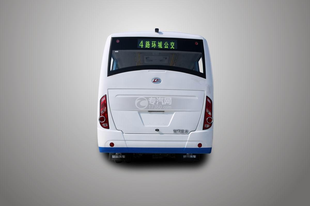 楚风7米2天然气城市客车后面图
