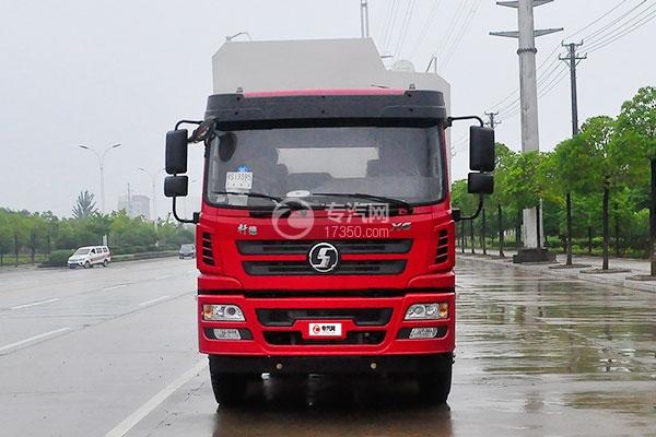 6陕汽德龙小三轴散装饲料运输车