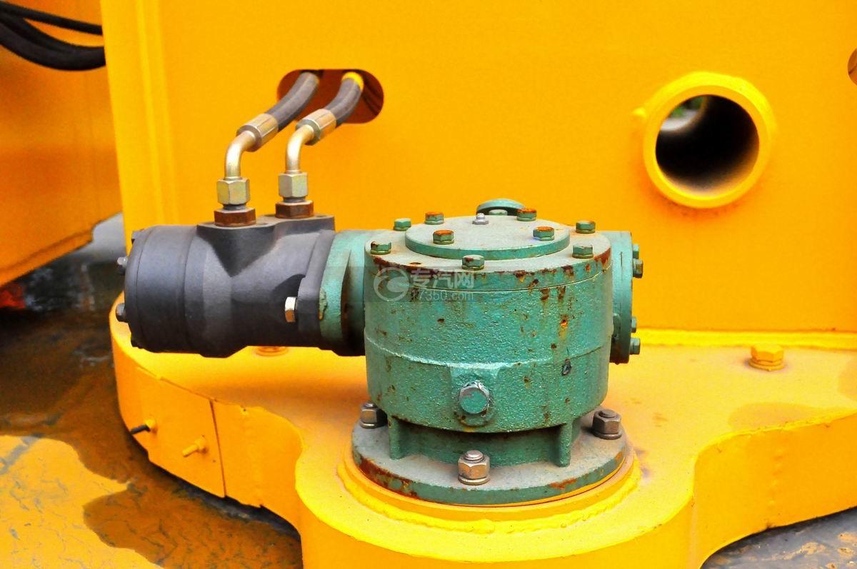 大运奥普力双排座国五12-14米高空作业车齿轮泵