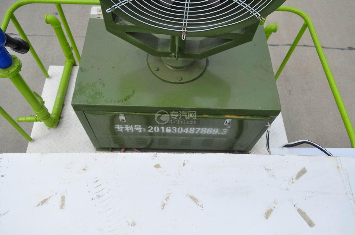 大运奥普力国五抑尘车喷雾装置