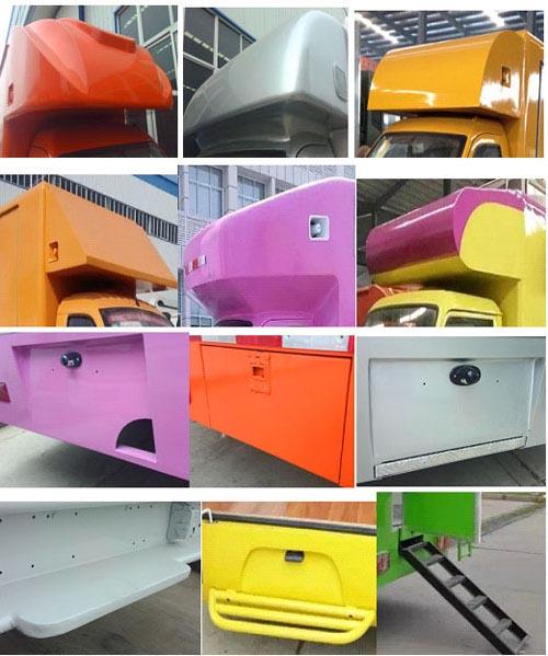长安国五小型LED宣传车2