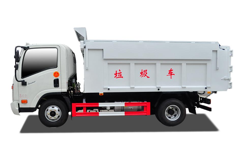大运奥普力蓝牌4-5方自卸式垃圾车
