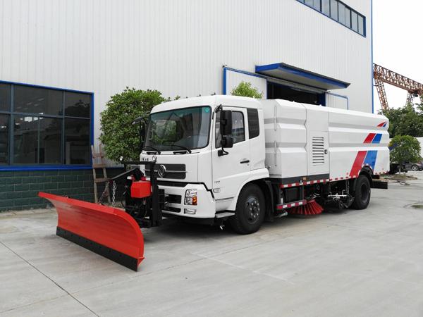 磨合期的扫路车具有哪些特点
