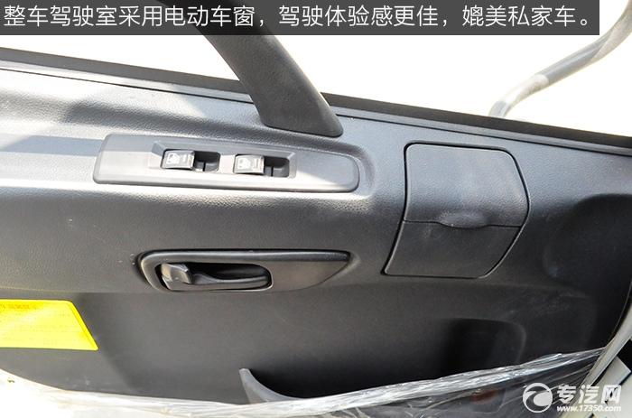 陕汽轩德x6前四后八搅拌车驾驶室电动车窗