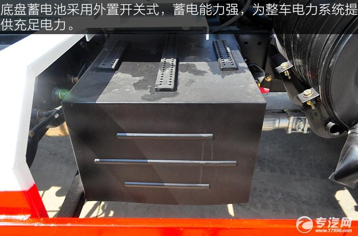 陕汽华康单桥国五搅拌车蓄电池