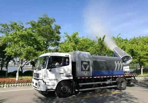 徐工多功能抑尘车亮相中国城市环境卫生协会年会