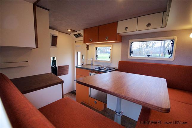 280万德国豪华露营越野奔驰房车Lennson3C_排名户外家具国外图片
