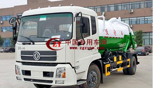 東風10噸吸污車產品