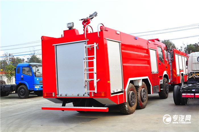 泡沫消防车基本结构特点