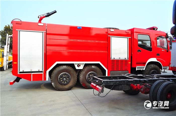 压缩空气泡沫消防车是什么样的
