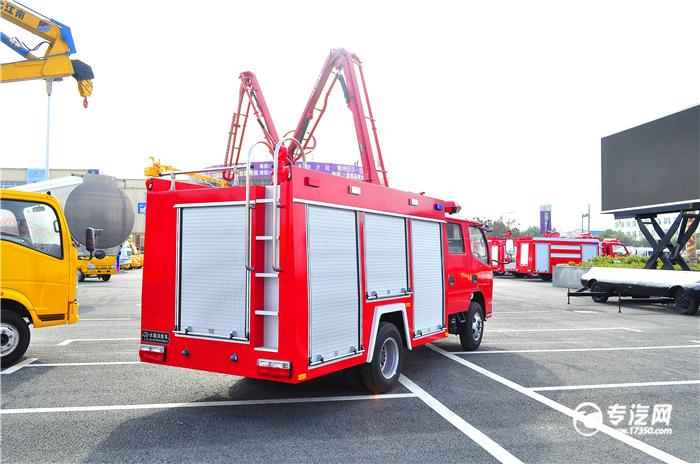 压缩空气泡沫消防车具有哪些特点呢