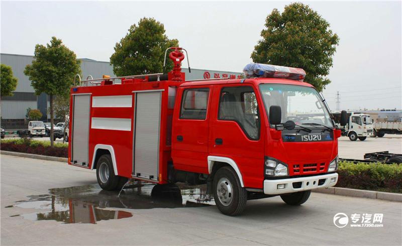 小型消防车特点