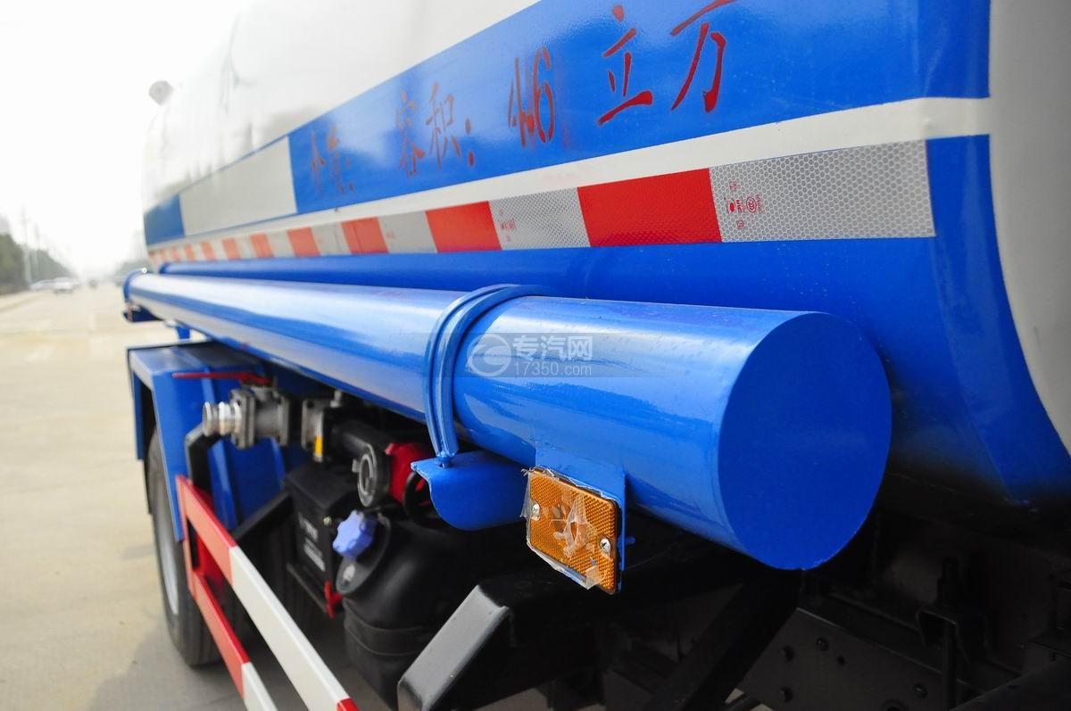 大运奥普力4.6立方洒水车储管槽