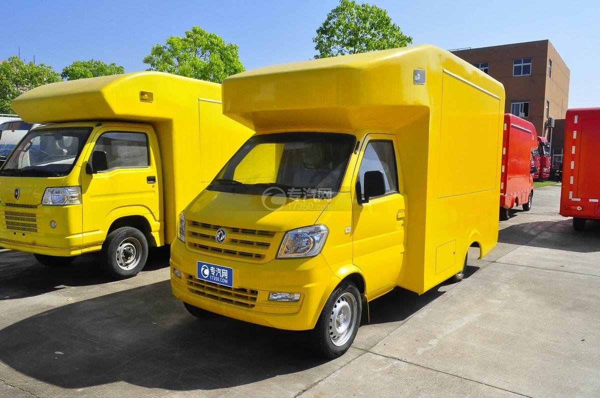 东风俊风流动售货车(黄色)图片