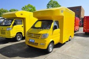 東風俊風流動售貨車(黃色)圖片