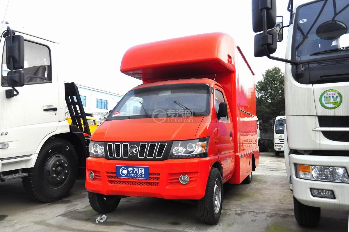 凯马售货车(橙色)图片