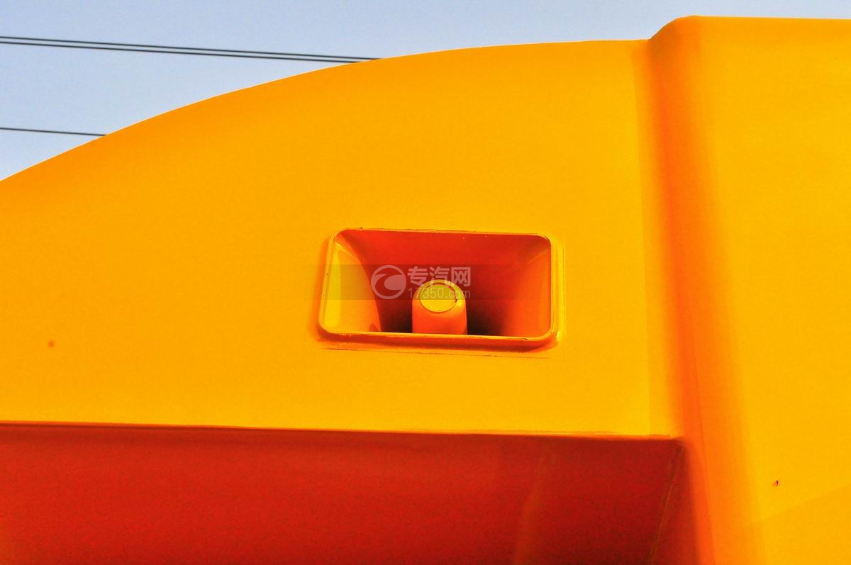 重汽王牌W1售货车(黄色)喇叭