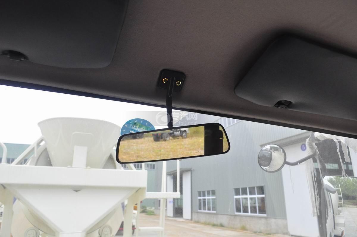 重汽王牌混凝土搅拌车中央后视镜