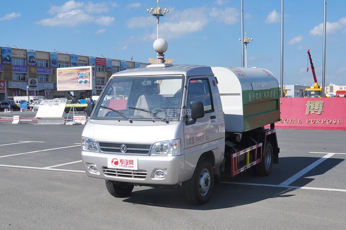东风凯马车厢可卸式垃圾车图片