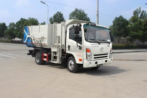 大运奥普力5-6方自装卸式垃圾车图片