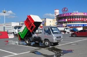 東風凱馬3方自裝卸式垃圾車圖片